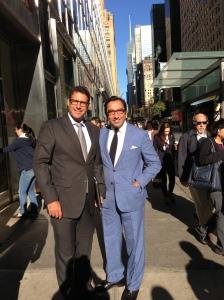 Arild og Taz i NYC